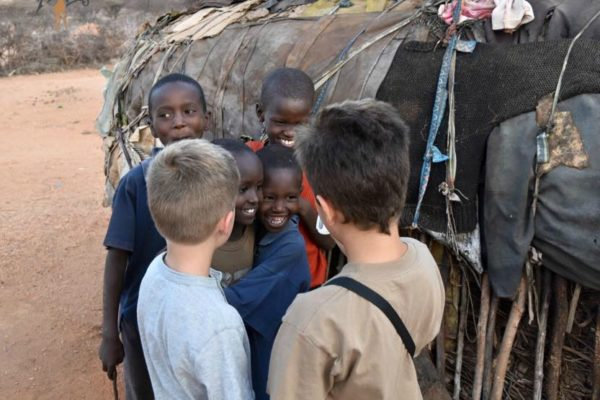 samburu kids village visit