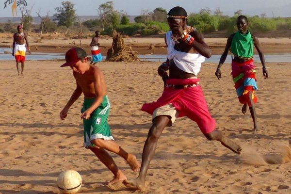 soccer with samburu WM