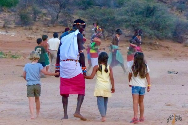 kids with samburu