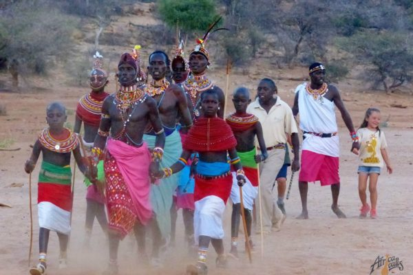 walking with Samburu
